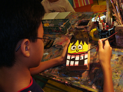 Holiday workshops for children at Art Zone