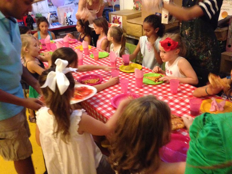 Birthday Art Parties