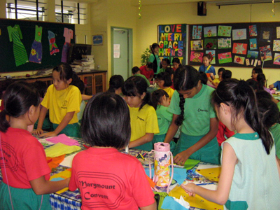 Marymount Convent Primary School Art Event with Art Zone