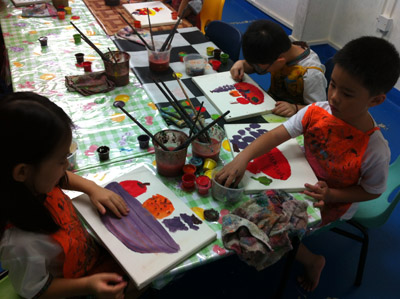 Exploring Art for Pre-School