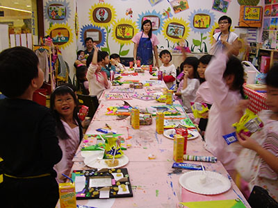 Birthday events with Art Zone